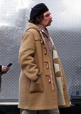 Johnny Depp irriconoscibile sul set con la figlia Lily-Rose: le foto