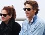 Julia Roberts con il marito Daniel Molder al parco