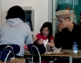 Justin Bieber con la sorellina Jazmyn, Kendall Jenner e Hailey Baldwin