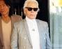 Karl Lagerfeld a Roma