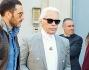 Karl Lagerfeld ha fatto visita alla capitale
