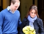 William e Kate si avviano verso Kensington Palace