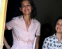 Katie Holmes durate le riprese di 'All We Had'