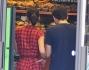 Keira Knightley in pausa pranzo con il suo James Righton