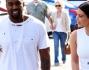 Kim Kardashian e Kanye West con la figlia North