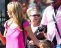 Seal e Heidi Klum con la famiglia a Disneyland, la coppia di nuovo insieme per i figli