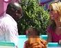 Un giro sulla tazzona per Seal ed Heidi Klum che mostrano di avere ancora un gran feeling