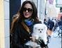 Leila Ben Khalifa a spasso per le vie di Milano