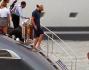 Leonardo DiCaprio a bordo del suo yacht a Saint Tropez