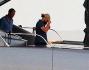 Leonardo Di Caprio in barca a Saint Tropez: le foto