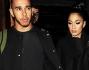 Lewis Hamilton e Nicole Scherzinger paparazzati all'uscita di un ristorante di Londra
