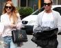 Lindsay Lohan a Milano con Pietro Tavallini e un amico