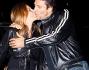 Baci passionali davanti agli obiettivi per Lorenzo Flaherty e Roberta Floris
