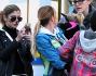 Una giornata la Luna Park per Maddalena Corvaglia insieme alla piccola Jamie Carlyn e la famiglia