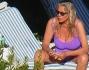 Vacanze a Portofino per Mara Venier e Nicola Carraro che si rilassano in piscina
