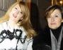 Marta Cecchetto in dolce attesa passeggia per le vie di Milano con la mamma