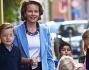Mathilde del Belgio accompagna i figli a scuola: foto