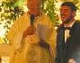 Mattia Destro sull'altare con Ludovica nella bellissima Chiesa di Santi Vincenzo ed Anastasio