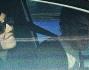 Michele Riondino ed Eva Nestori fuggono in auto dagli occhi indiscreti dei paparazzi