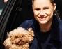 Michelle Hunziker  con Sole e la barboncina Lily: le foto