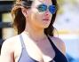 Mila Kunis bellissima col pancione ormai agli sgoccioli della gravidanza