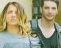 Myriam Catania con il suo allievo Davide Faggioli modello ed aspirante attore