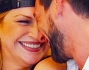 Nadia Rinaldi felice insieme al suo Ivano Marino