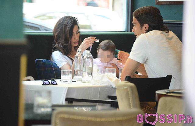Alessandro Matri beato tra le donne: eccolo con la sua Federica e la piccola Sofia