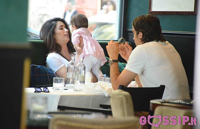 Pranzo in famiglia per Federica Nargi e Alessandro Matri