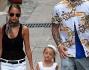 Nicole Richie e Joel Madden a spasso per le vie di Saint Tropez mano nella mano con i pargoli