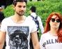 Noemi con il fidanzato Gabriele Greco