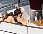 Louis Tomlinson, Harry Styles, Liam Payne, Zayn Malik e Niall Horan vacanze oltreoceano