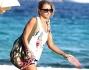 Giorgio Panariello in vacanza con la bionda: eccolo alle Baleari