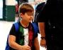 Paolo Bonolis porta il figlio a vedere i Mondiali in Brasile