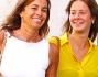 Cristina Parodi con la figlia Benedetta a spasso per il Capoluogo Meneghino
