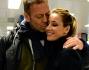 Baci e abbracci prima di un lungo distacco: Rocco Siffredi e Rosza Tassi