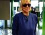 Catherine Spaak casual come non l'abbiamo mai vista in aeroporto a Milano