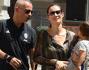 Marica Pellegrinelli ed Eros Ramazzotti con il piccolo Gabrio Tullio