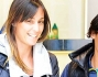 Francesca Schiavone e Flavia Pennetta escono soddisfatte del loro shopping nella boutique Sebastian