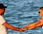 Laura Cremaschi e Andrea Perone a Miami