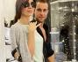 Philipp Plein fa visita al suo nuovo store insieme alla compagna
