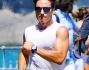 Piersilvio Berlusconi avvistato mentre faceva jogging lungo il viale panoramico a Portofino