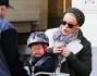 Pink con la figlia Willow e il marito Carey Hart
