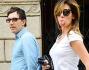 La bella comica di 'Quelli che il calcio...' Virginia Raffaele fa la linguaggiaai fotografi mentre camminava in compagnia del fidanzato Ubaldo Pantani