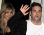 Robbie Williams con la moglie Ayda Field a Londra per presentare il Cd di ritorno dei Take That