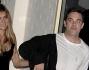 Robbie Williams con la moglie Ayda Field alla presentazione del nuovo cd della boy band