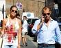 LE FOTO DI RICCARDO BOSSI E SONIA CHE FANNO SHOPPING A MILANO