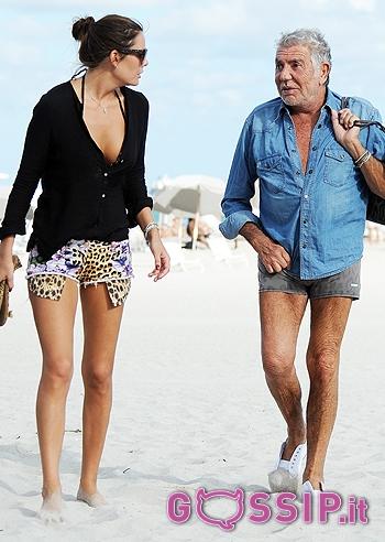 online retailer f2ea5 7509e Vacanza a Miami per Roberto Cavalli e Lina Nilson - Foto e ...