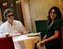 Sabrina Ferilli e Flavio Cattaneo, pranzo di coppia