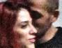 Dolci coccole furtive lontane dagli occhi indiscreti per Salvatore Angelucci e Irene Coppola